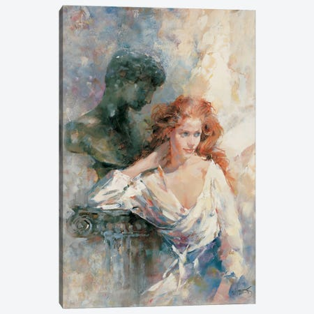 A Serene Stature Canvas Print #HAE91} by Willem Haenraets Canvas Art Print