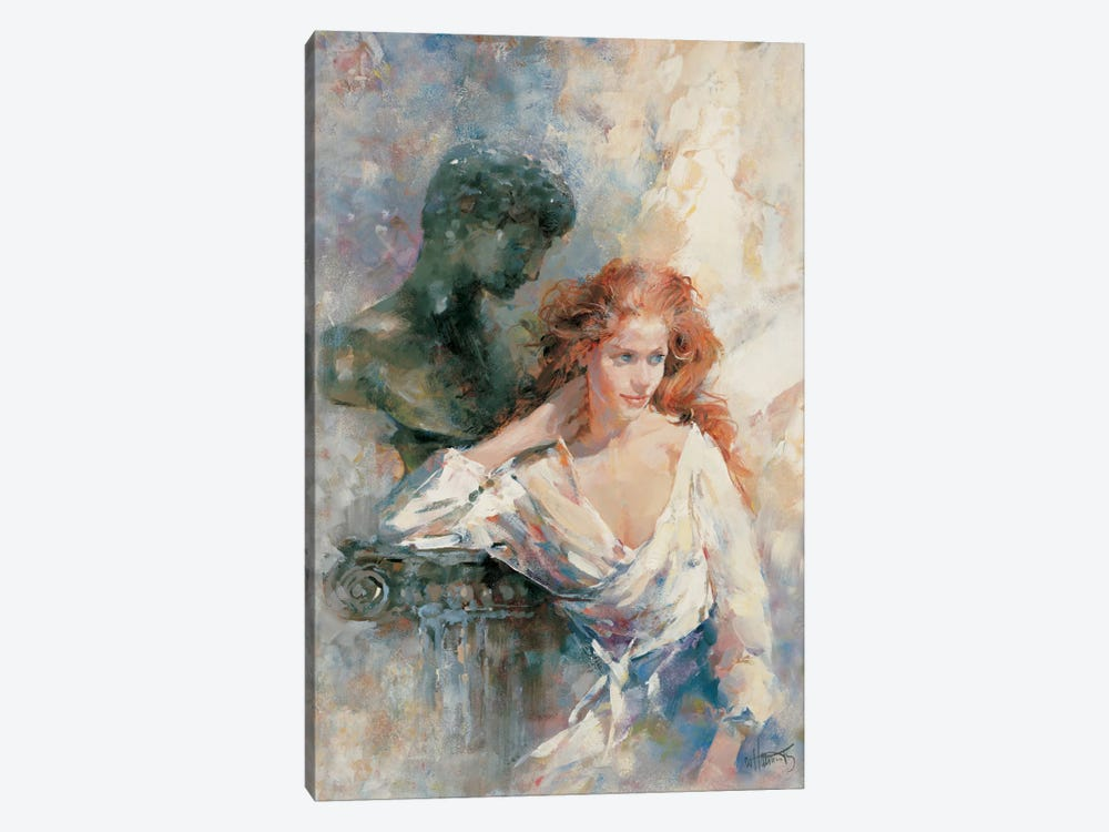 A Serene Stature by Willem Haenraets 1-piece Canvas Wall Art