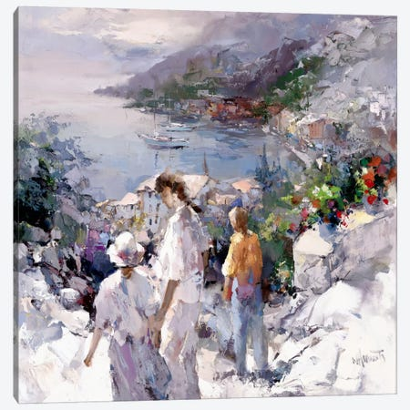 An Unforgettable View Canvas Print #HAE93} by Willem Haenraets Art Print