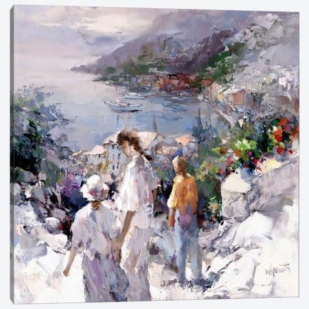 An Unforgettable View Canvas Print #HAE93} by Willem Haenraets Art Print