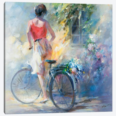 Anybody Home? Canvas Print #HAE94} by Willem Haenraets Canvas Wall Art