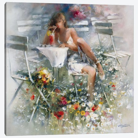 Aperitif Canvas Print #HAE95} by Willem Haenraets Canvas Artwork