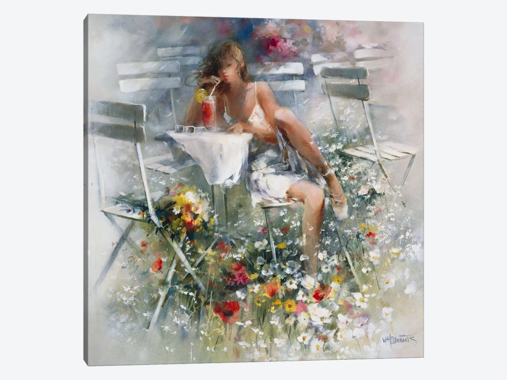 Aperitif by Willem Haenraets 1-piece Canvas Wall Art