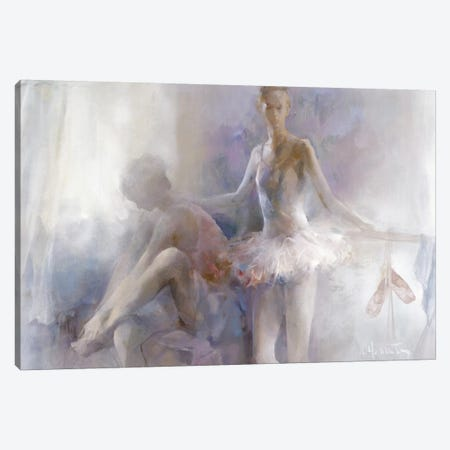 Ballerinas Canvas Print #HAE97} by Willem Haenraets Canvas Artwork