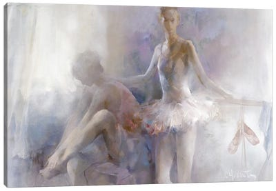 Ballerinas Canvas Art Print