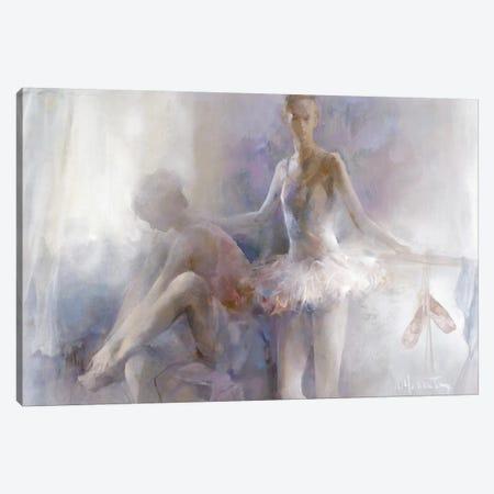 Ballerinas Canvas Print #HAE97} by Willem Haenraets Canvas Artwork