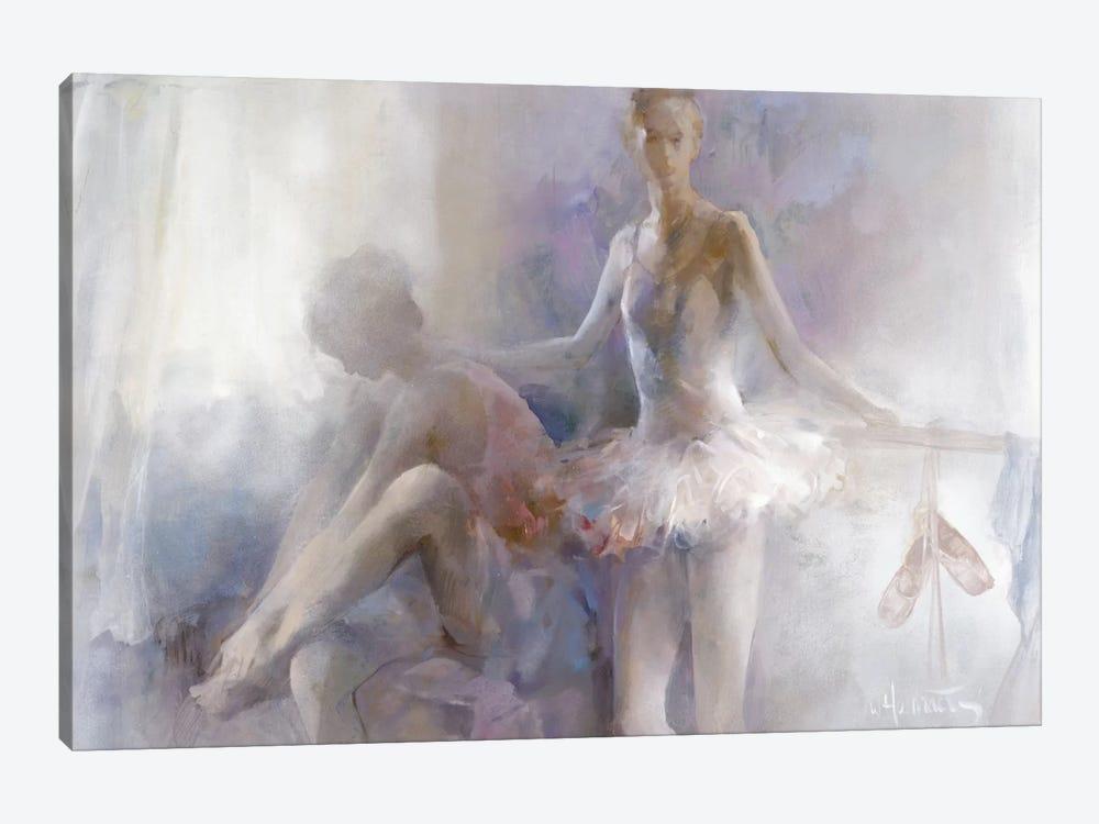 Ballerinas by Willem Haenraets 1-piece Canvas Wall Art