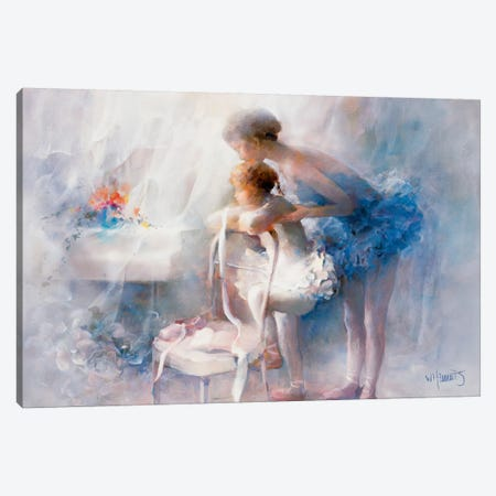 Ballet Canvas Print #HAE98} by Willem Haenraets Canvas Print