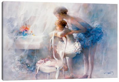 Ballet Canvas Art Print