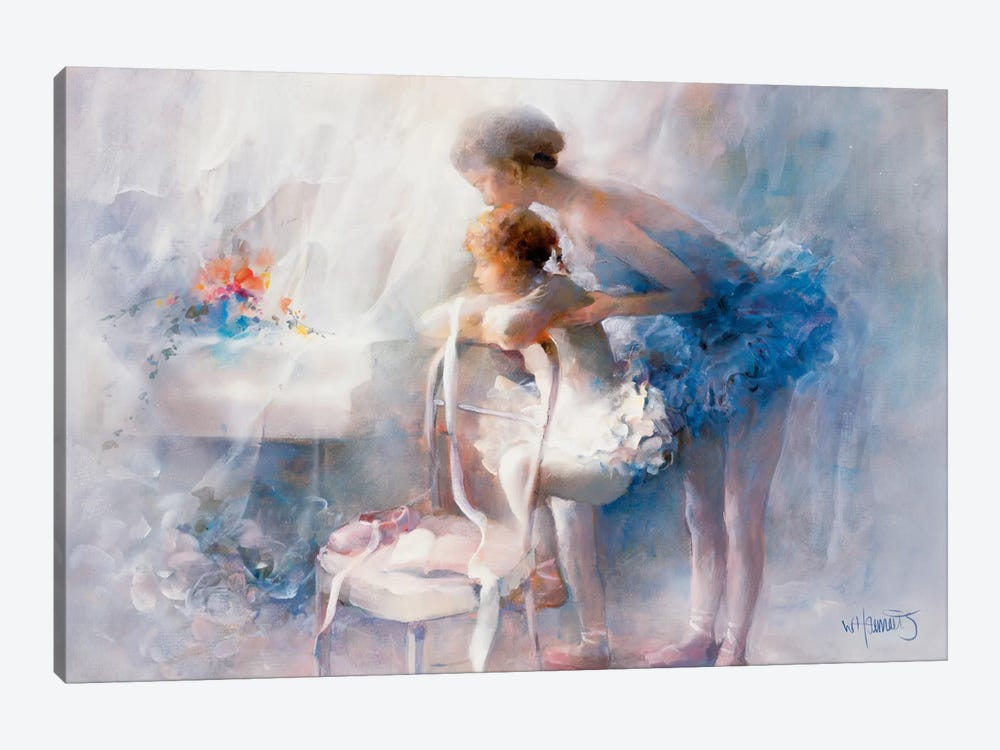Ballet by Willem Haenraets 1-piece Art Print
