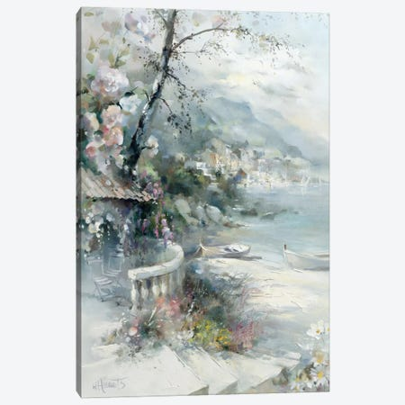 Bayside I Canvas Print #HAE99} by Willem Haenraets Art Print