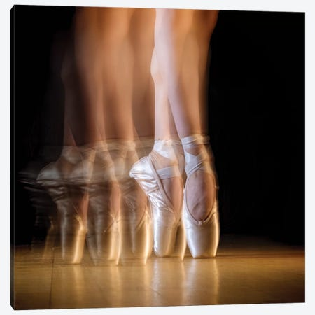 Ballet Canvas Print #HAJ5} by Howard Ashton-Jones Canvas Artwork