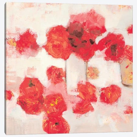 Roses Canvas Print #HAR2} by Jennifer Harwood Canvas Artwork