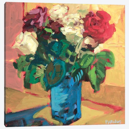 Spring Collection Canvas Print #HAR3} by Jennifer Harwood Canvas Artwork