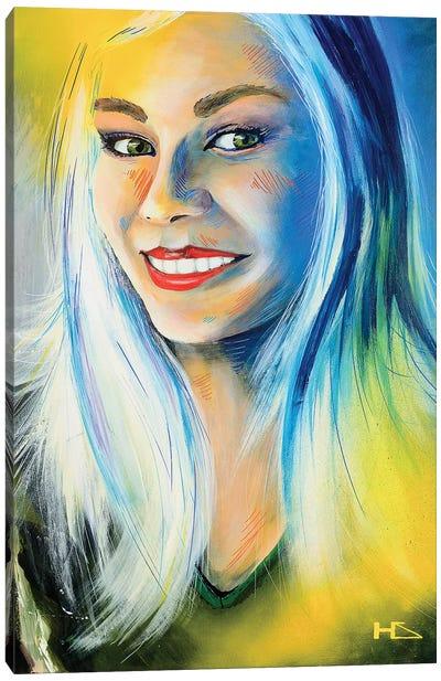 Lady Luck Canvas Art Print