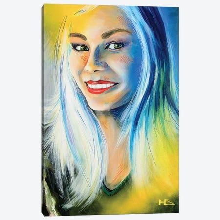 Lady Luck Canvas Print #HAS11} by Harry Salmi Canvas Art Print
