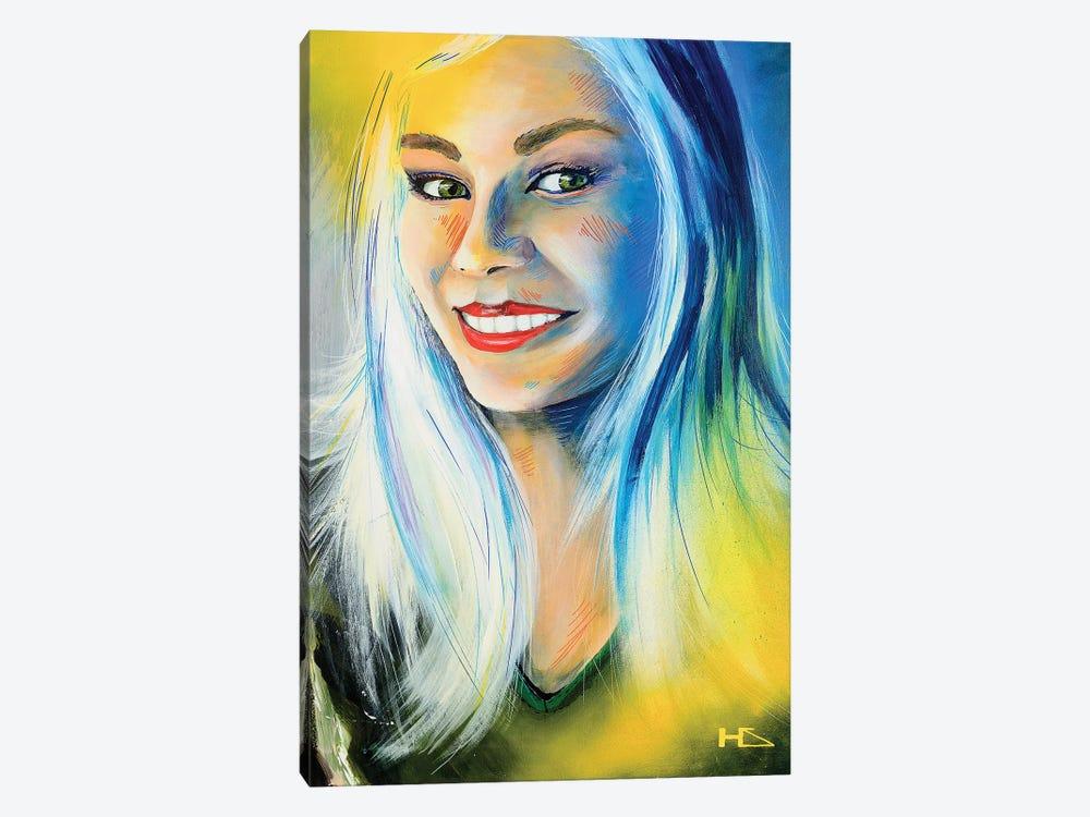 Lady Luck by Harry Salmi 1-piece Art Print