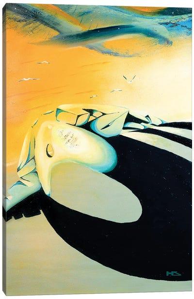 Over The Horizon Canvas Art Print