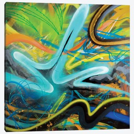 Tropical Zone Canvas Print #HAS20} by Harry Salmi Canvas Wall Art