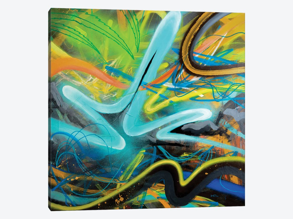 Tropical Zone 1-piece Canvas Print