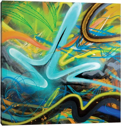 Tropical Zone Canvas Art Print