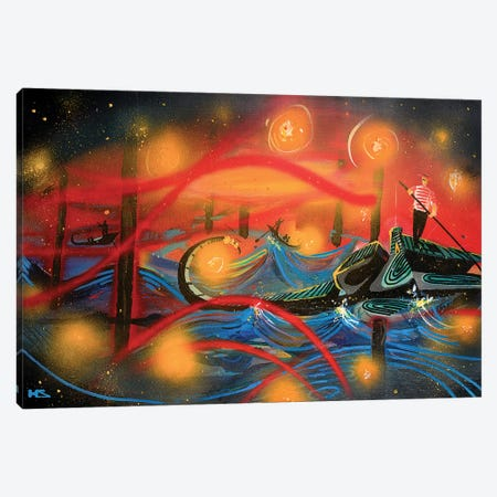 Venice Canvas Print #HAS22} by Harry Salmi Canvas Wall Art