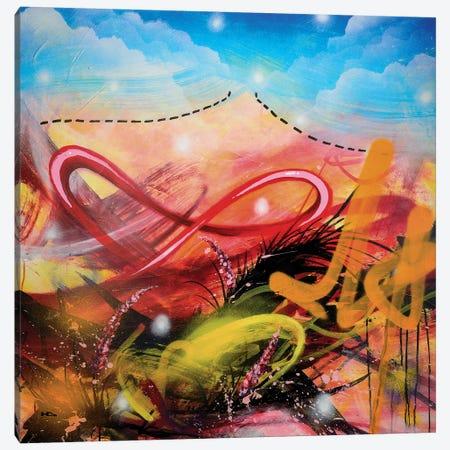 Volcano Canvas Print #HAS23} by Harry Salmi Canvas Wall Art