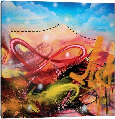 Volcano Canvas Art Print