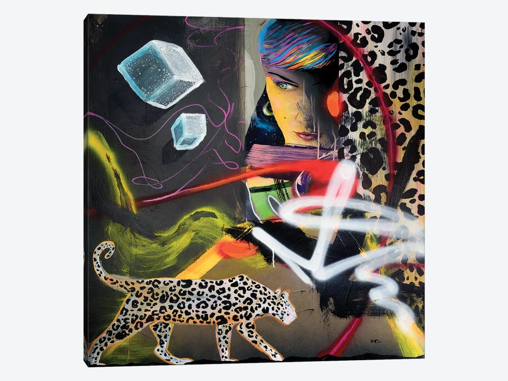 Wild Hearts by Harry Salmi 1-piece Canvas Wall Art
