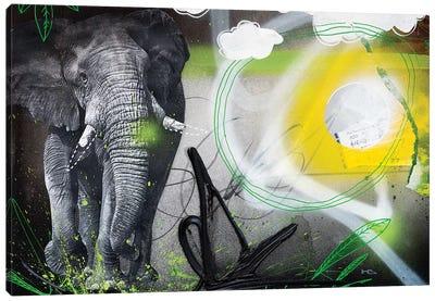 Power Animal Canvas Art Print