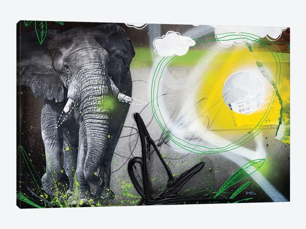 Power Animal by Harry Salmi 1-piece Canvas Wall Art