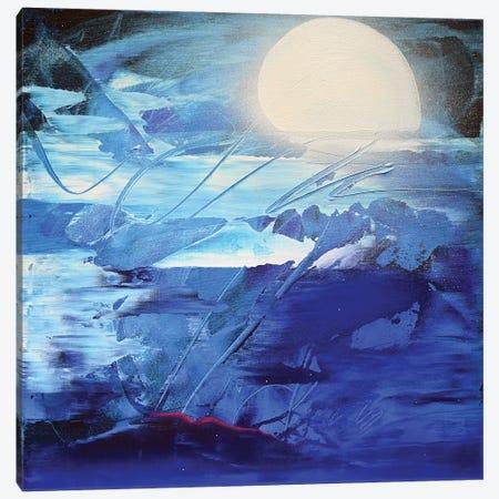 Good Night Canvas Print #HAS33} by Harry Salmi Canvas Print