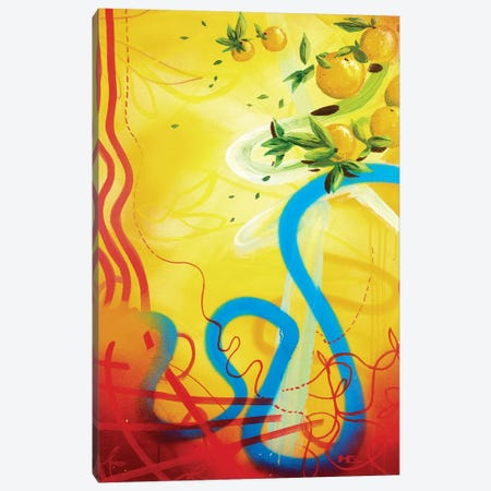 Costa del Sol Canvas Print #HAS4} by Harry Salmi Canvas Artwork