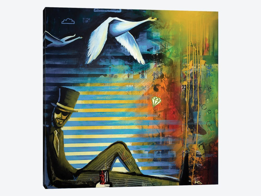 Dazzle by Harry Salmi 1-piece Canvas Artwork