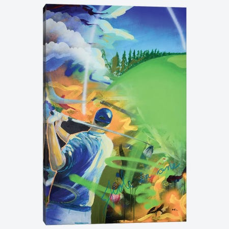 Hole In One Canvas Print #HAS9} by Harry Salmi Canvas Art Print