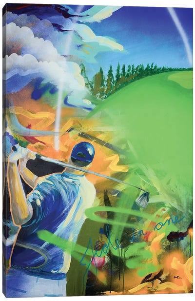 Hole In One Canvas Art Print