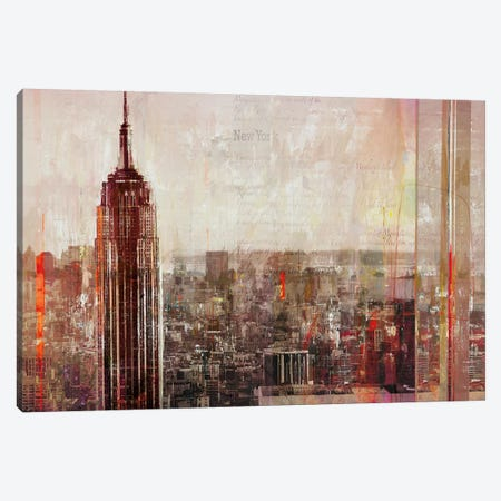 Shades of New York Canvas Print #HAU4} by Markus Haub Canvas Wall Art