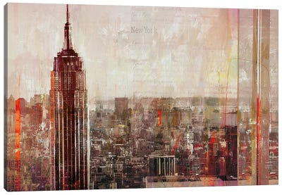 Shades of New York Canvas Art Print
