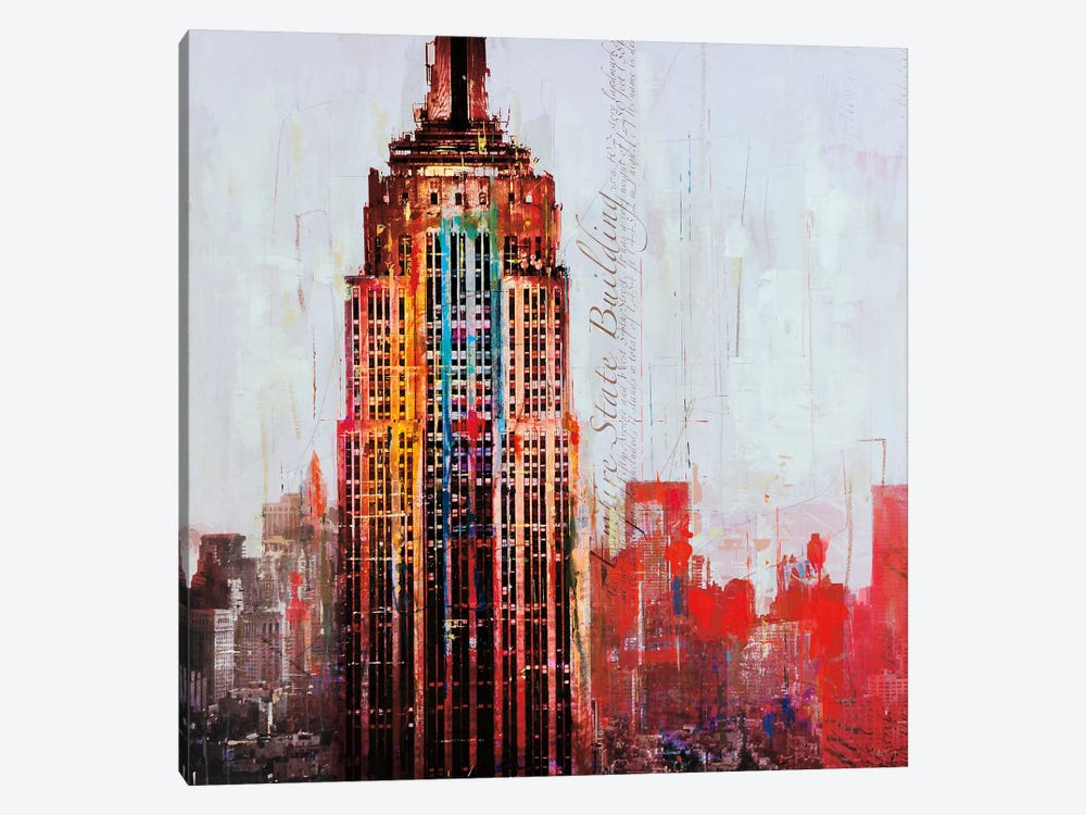 The City That Never Sleeps I by Markus Haub 1-piece Art Print