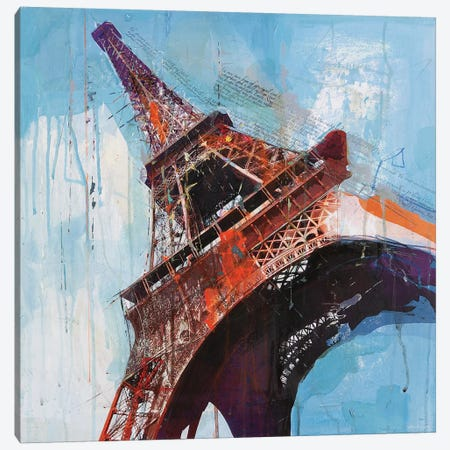 Lost in Paris Canvas Print #HAU7} by Markus Haub Canvas Art