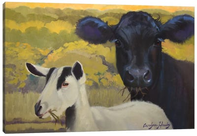 Farm Pals IV Canvas Art Print