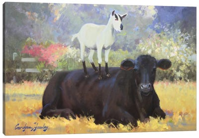 Farm Pals V Canvas Art Print