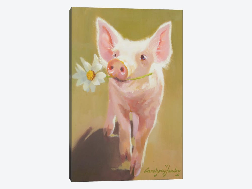 Life As A Pig IV 1-piece Canvas Wall Art