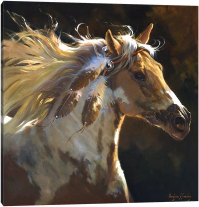 Spirit Horse Canvas Print #HAW3