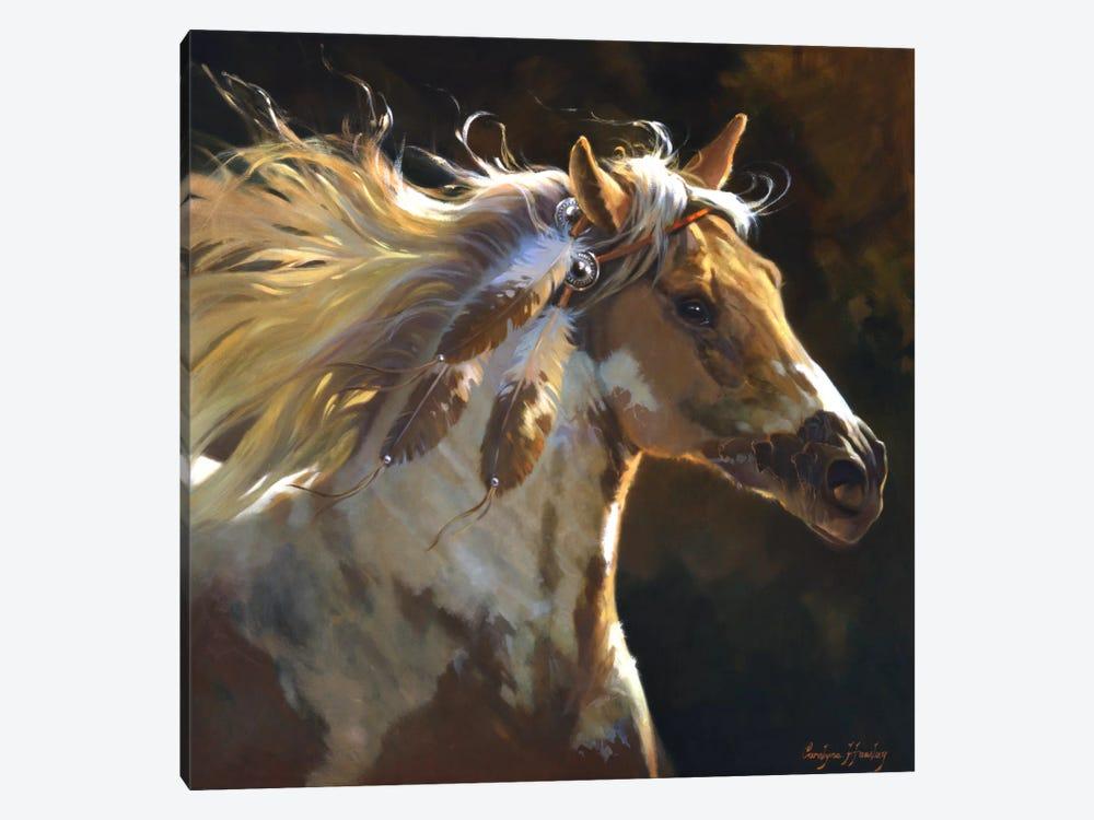 Spirit Horse by Carolyne Hawley 1-piece Art Print