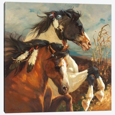 Wind Voyager Canvas Print #HAW6} by Carolyne Hawley Canvas Art