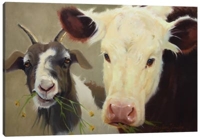 Farm Pals I Canvas Art Print