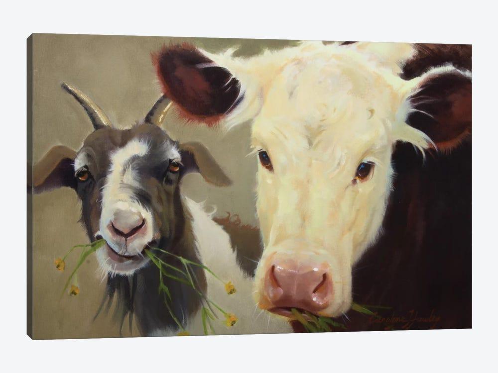 Farm Pals I by Carolyne Hawley 1-piece Art Print