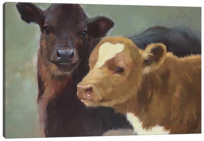 Farm Pals II Canvas Art Print