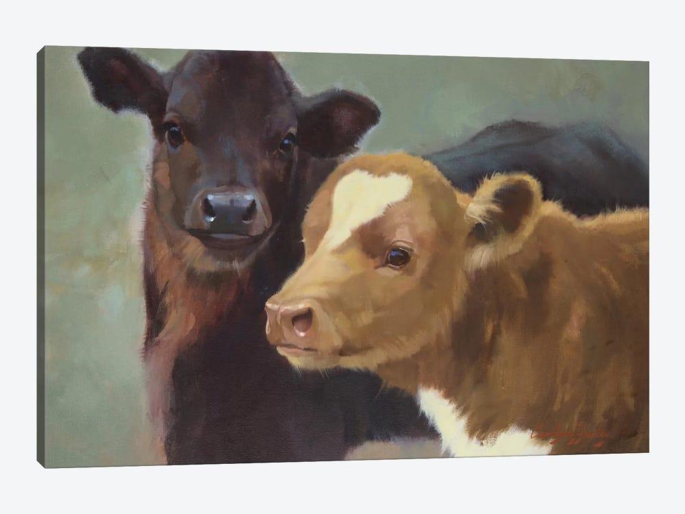 Farm Pals II by Carolyne Hawley 1-piece Canvas Wall Art